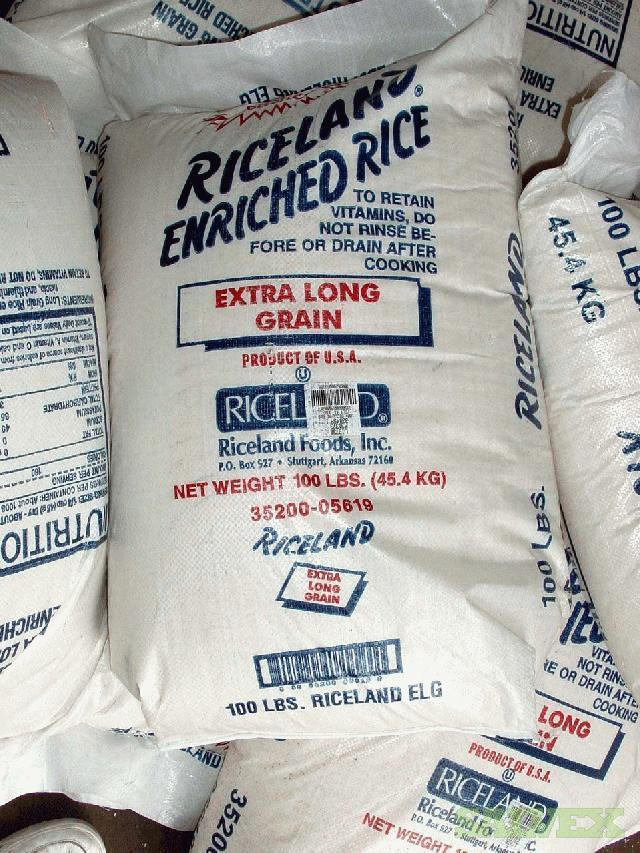 Riceland Enriched Bagged Extra Long Grain Rice