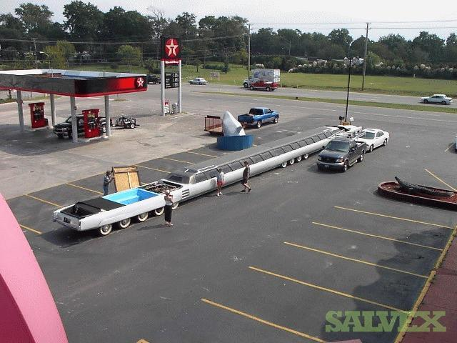 Worlds Longest Limousine - 100 feet