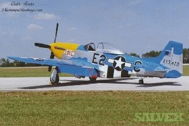 1944 North American P/F-51D Aircraft