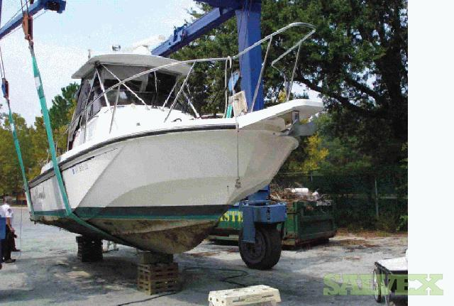 1991 27ft  Boston Whaler with 2 x 250 Evinrude Engines