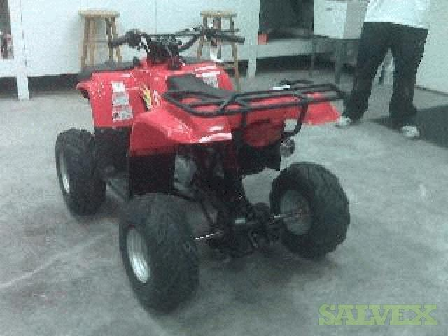 110CC All Terrain Vehicles (ATVs) (Export Out of Texas Only)