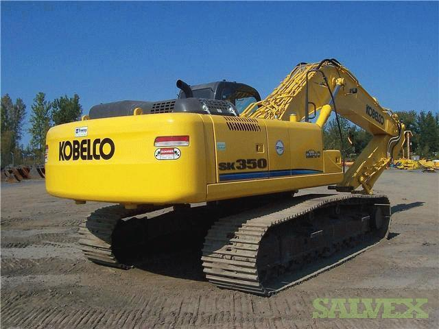 Kobelco 2008 Sk 350 Excavator With Genesis Shear Salvex