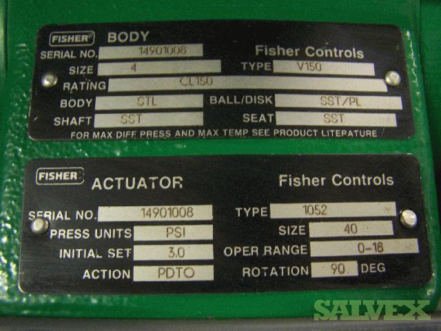 Fisher Control Valves | Salvex