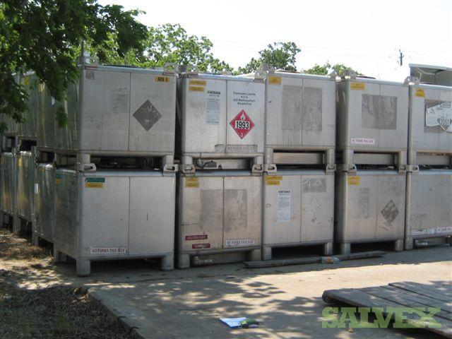 Bulk Liquid Chemical Totes