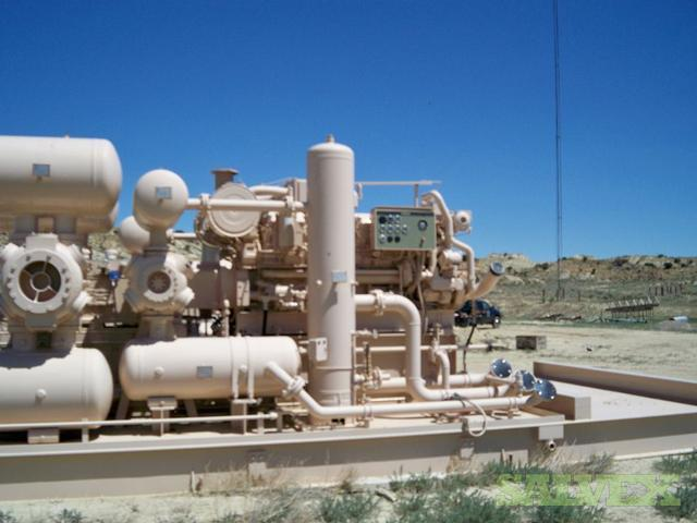 Ariel JGE/4 Compressor with Cat 3516 Natural Gas Engine