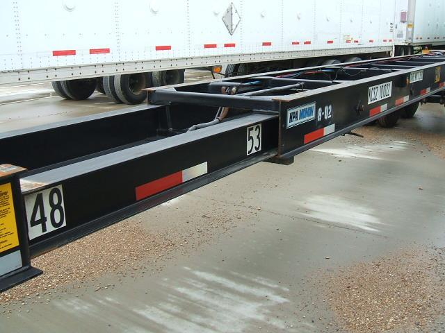 (50) 48'/53' Chassis Trailers in Kansas City