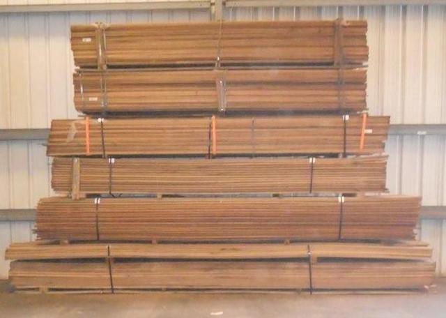 Greenheart Wood Decking Kiln Dried Salvex