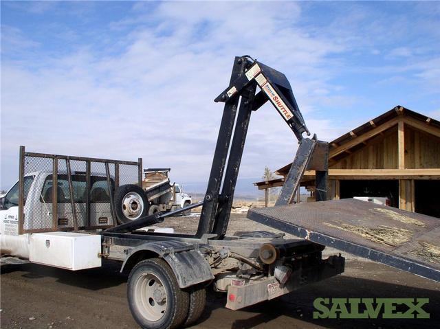 Truck, 2000 F 550 4x4 Hook Lift Style