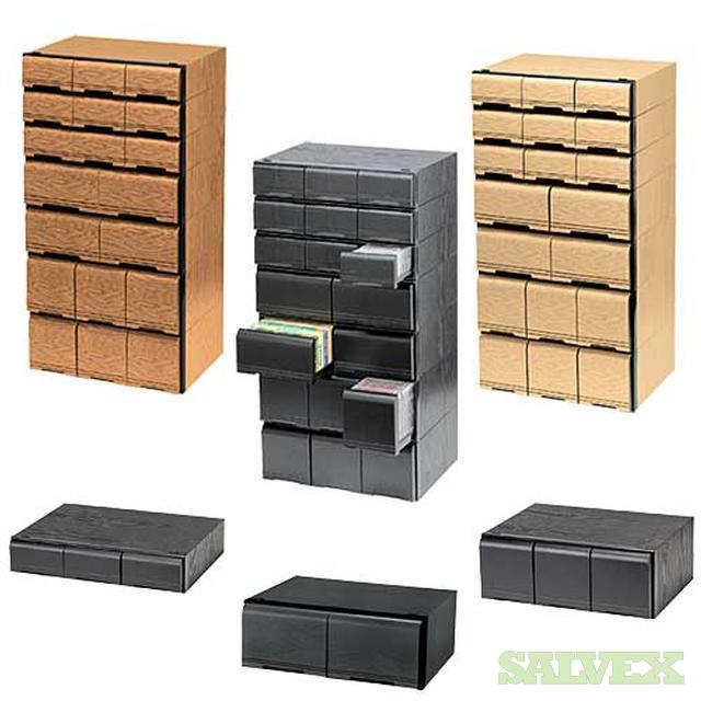 Video, DVD Storage Cabinets   Stackable NO DAMAGE, MUST SELL ASAP