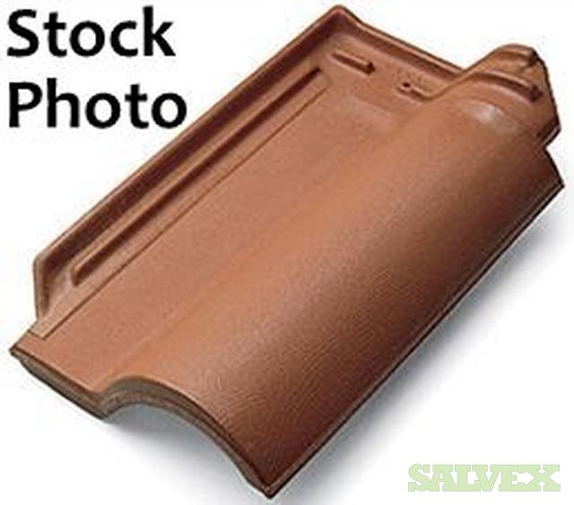 Portuguese interlocking clay roof tile spanish style Spanish clay tile