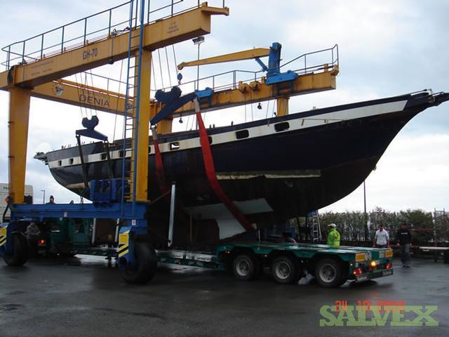 52 Foot Jongert Cruise Sail Boat