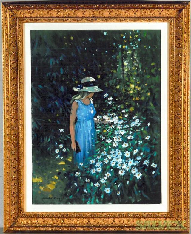 Oil Painting Secret Garden by Robert King
