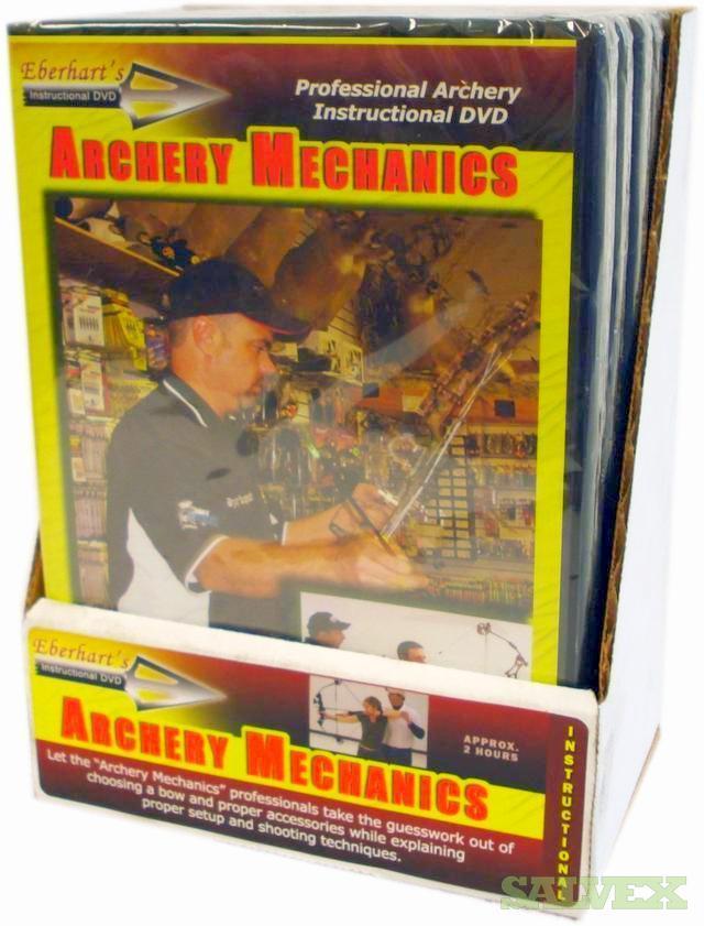 Archery Mechanics DVD package by Eberhart