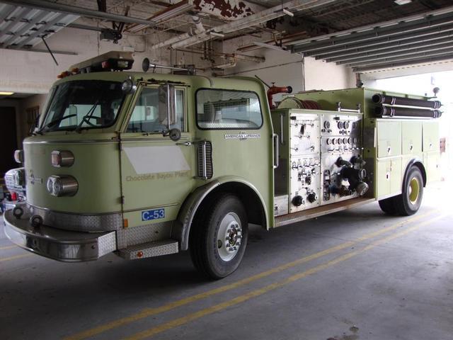 American LaFrance Firetruck