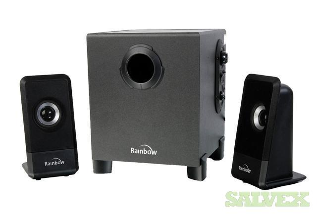 Speaker Sets - Rainbow Magno 2.1, Left, Right & Bass Active Woofer