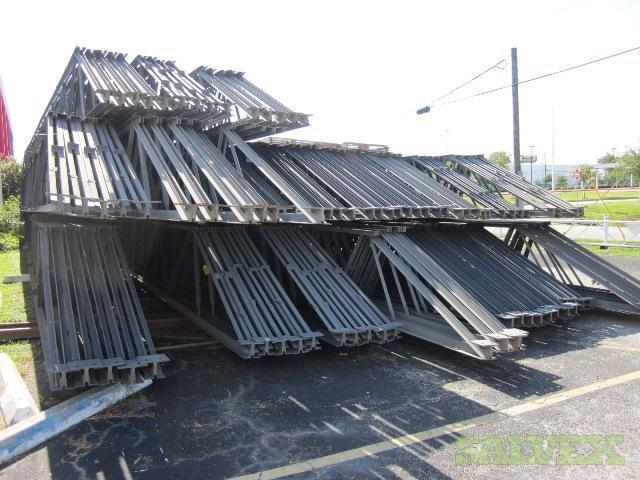 94 steel trusses salvex for Roof trusses for sale