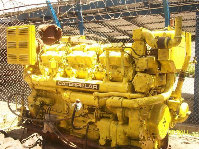 Caterpillar D398 Marine Diesel Engine Salvex