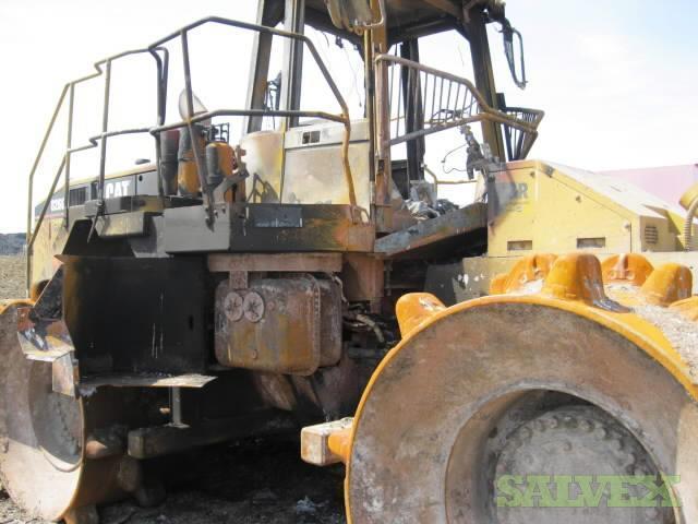 Cat 826g Compactor : Cat g series ii landfill compactor quick sale salvex
