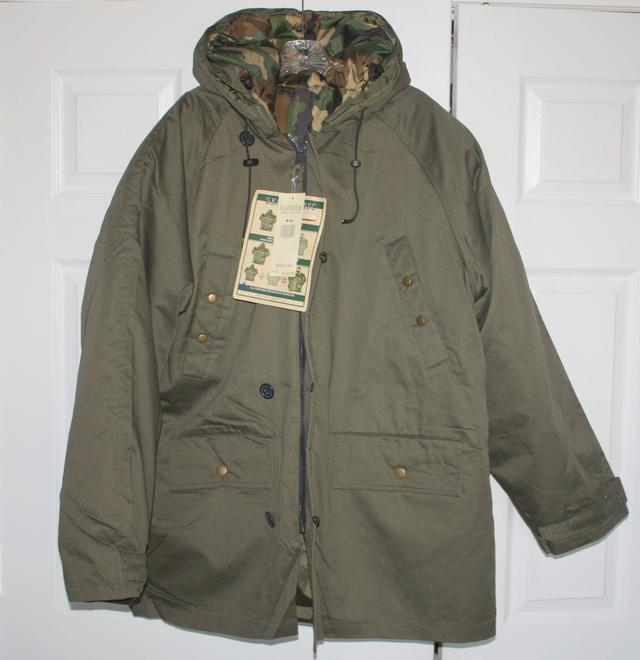 Winter Jackets - 4 in 1 - Black, Brown, Camouflage