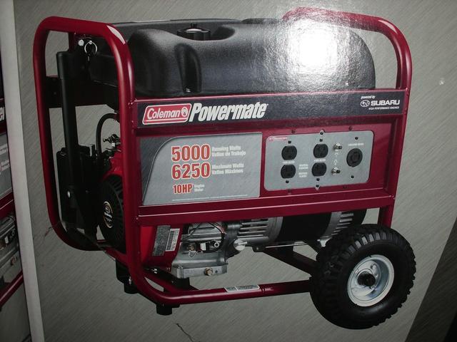 Generators, Coleman Powermate 5000 Watt | Salvex