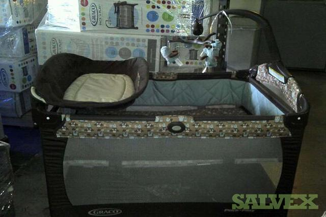play pack graco change n carry changing pad crib playard cribs with