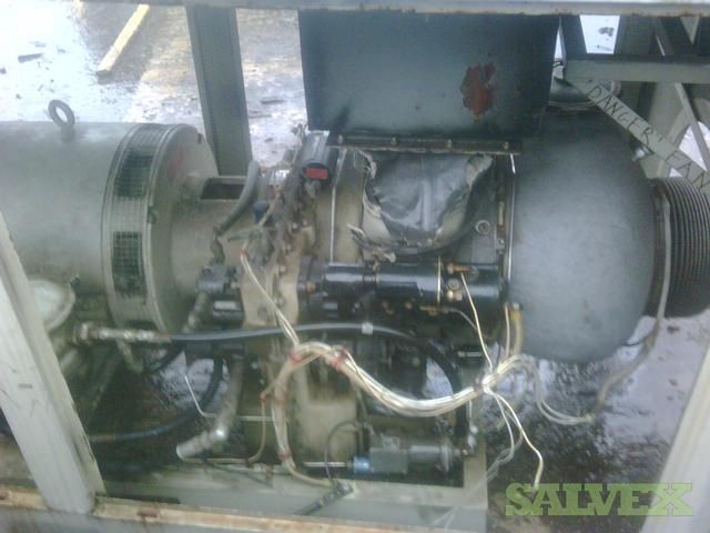 225KW Solar Gas Turbine Generator Set | Salvex