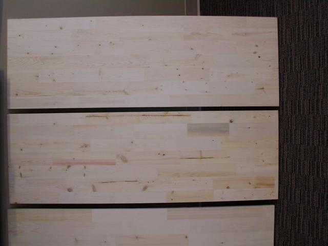 Finger Joint Pine Edge Glued Pine Shelving
