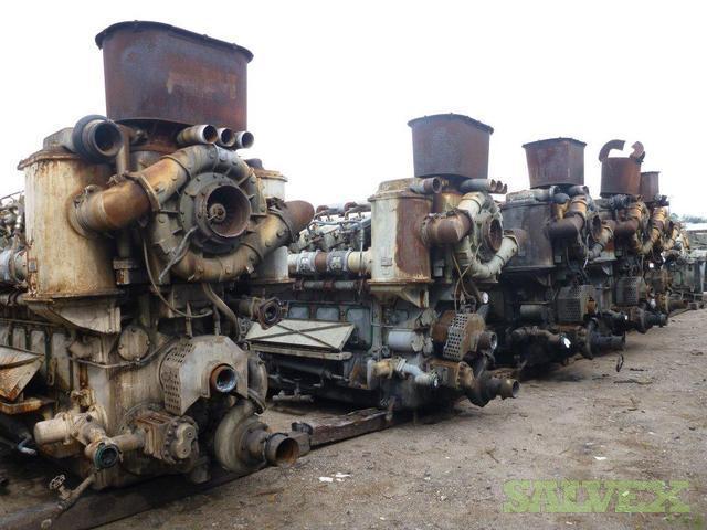 Diesel Locomotive Engines Ge 7fdl16 Salvex