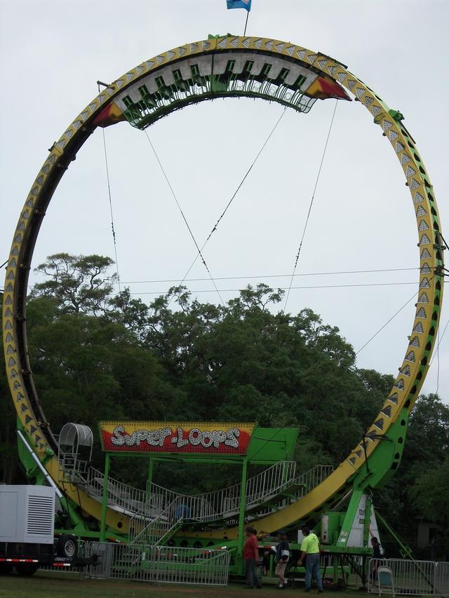 Kmg Super Loop Carnival Ride Salvex