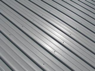 Roofing Material Metal With Minor Hail Damage Salvex