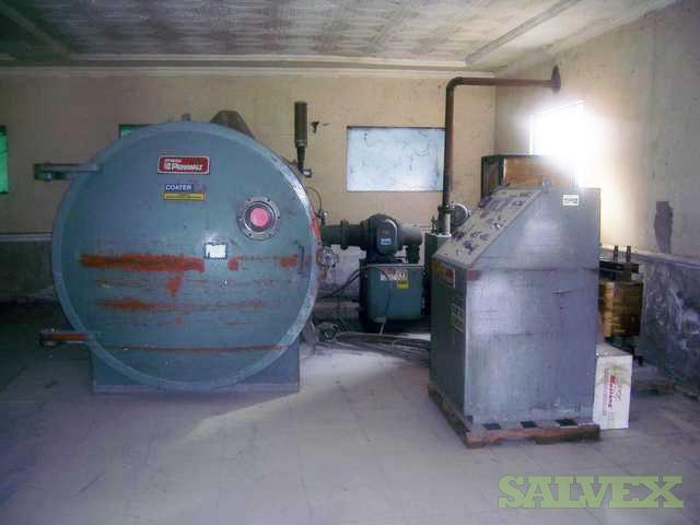 Vacuum Metalizing Chambers (Penwalt Stokes)