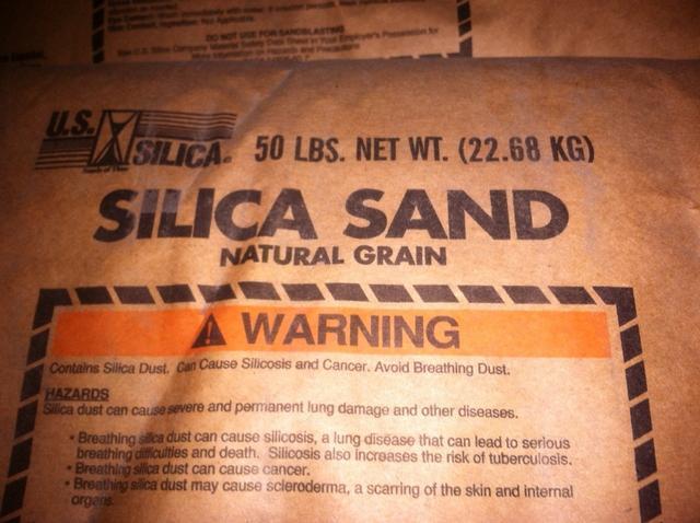 Silica Sand 80 X 50 Lb Bags Salvex