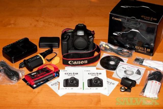 Canon EOS 1Ds Mark III Digital SLR Camera (Body Only)