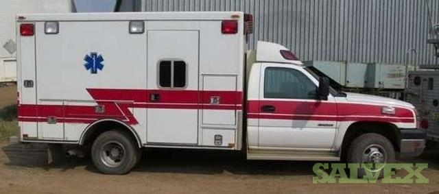 Ambulances - Chevrolet E-3500