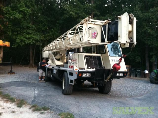 Terex Crane RT-335 40 Ton   Salvex
