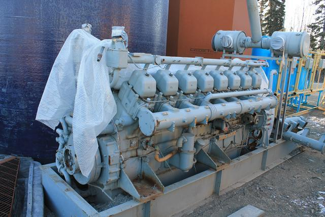 Mitsubishi S16N-PTA Diesel Engine and Parts Engine