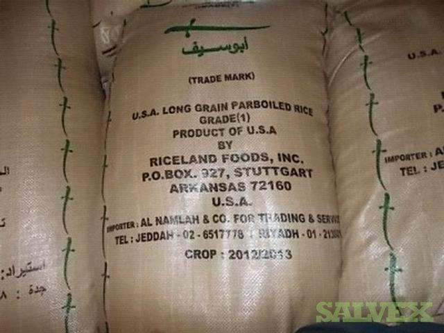 Rice, Bagged (149,900 Lbs.)