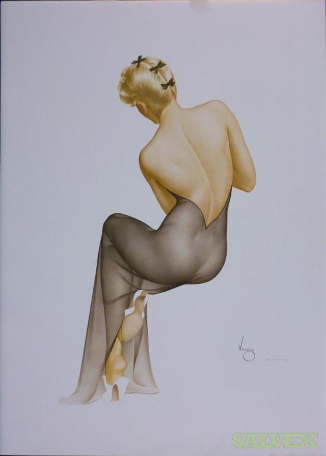 Alberto Vargas Lithographs