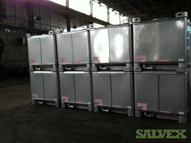 350gal New Stainless Steel Ibc Totes Salvex