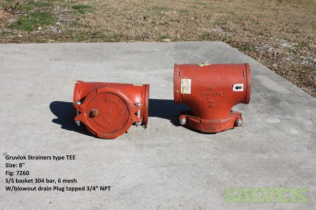 8 Tee Strainers Style 7260