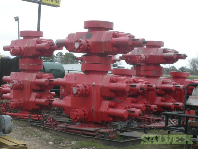 Pressure Containing Equipment for Drilling Operations-Type U Double