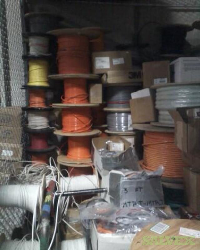 Surplus Fiber Optic Cable And Related Materials Salvex