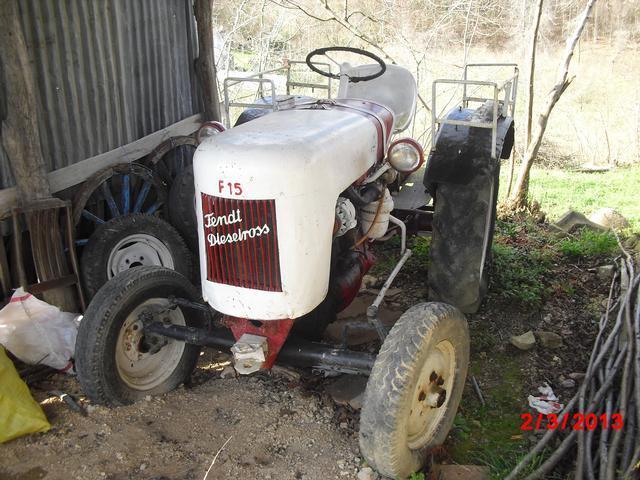 vintage 1951 fendt dieselross f15 g tractor still in. Black Bedroom Furniture Sets. Home Design Ideas