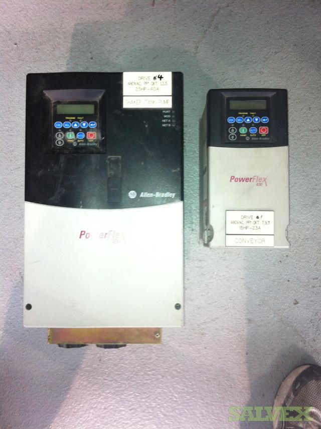 Allen-Bradley Variable Frequency AC Drives (1336 PlusII  / PowerFlex 400)