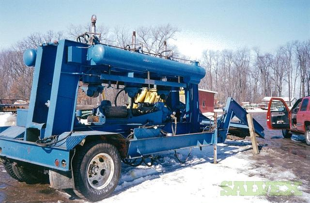 Cross Roll Pipe Straightener Trailer (for pipe sizes 1-1/2 thru 7)