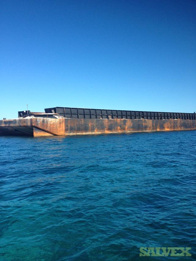 Deck Barge 10,000 DWT   Salvex