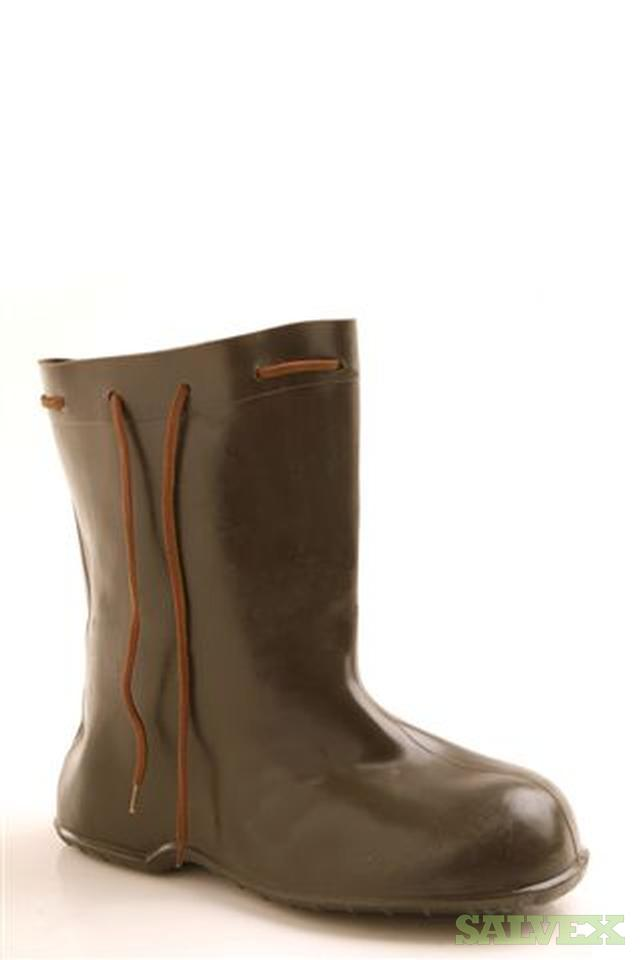 Army-Issue Rubber Shoe Covers / Boots -- Designed to Resist Atomic, Biological & Chemical Compounds