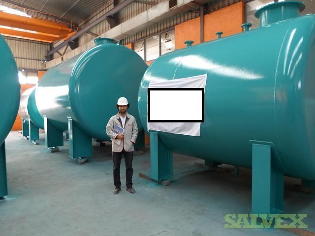 Horizontal Storage Tanks with Saddle Mounted Feet (200 bbl)