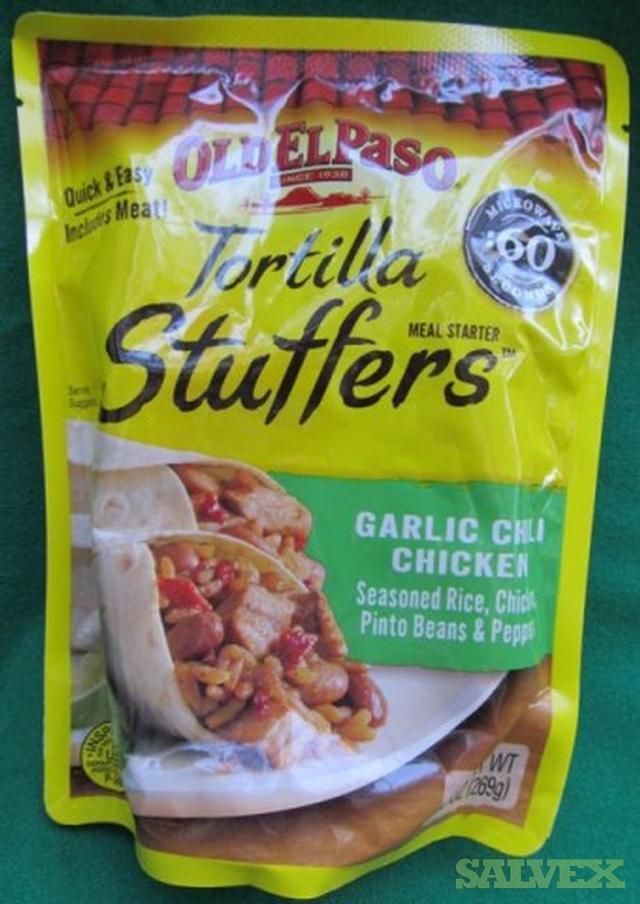 Old El Paso Tortilla Stuffers Salvex