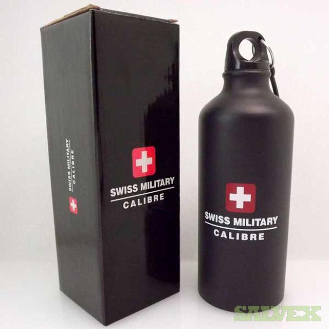 Aluminum Canteen Water Bottles (4,500) Swiss Military Calibre brand